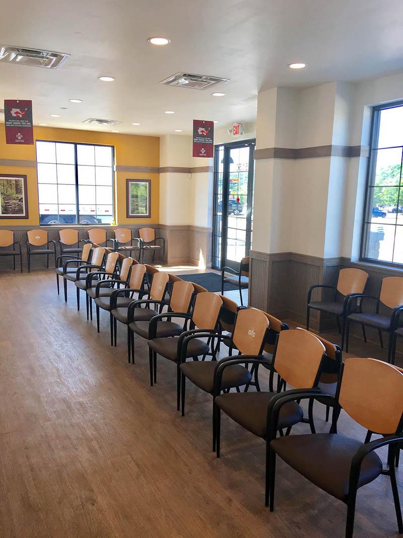 AFC Urgent Care Waiting Room